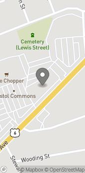 Map of 123 Farmington Ave in Bristol