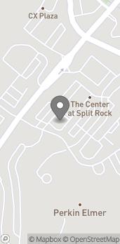 Mapa de 704 Bridgeport Ave en Shelton