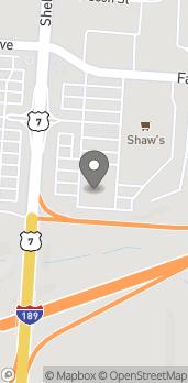 Map of 580 Shelburne Rd in Burlington