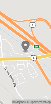 Map of 75 Church Hill Rd in Sandy Hook