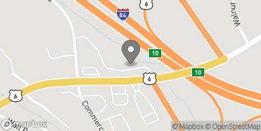 Mapa de 75 Church Hill Rd en Sandy Hook