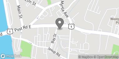 Mapa de 180 Post Rd E en Westport