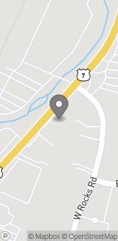 Mapa de 584 Main Avenue en Norwalk