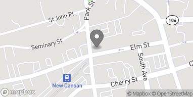 Map of 155 Elm Street in New Canaan