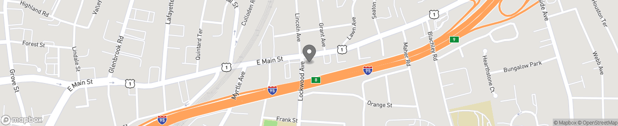 Map of 955 East Main Street in Stamford