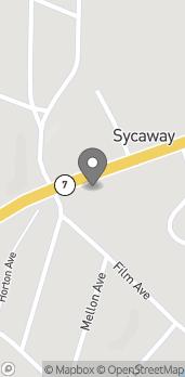 Map of 616A Hoosick St in Troy