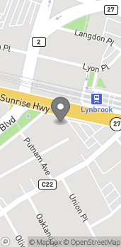 Map of 679 Sunrise Hwy in Lynbrook