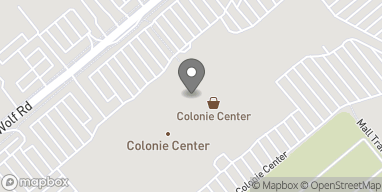 Map of 1425 Central Ave in Albany