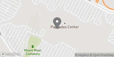 Map of 1330 Palisades Center Drive in West Nyack