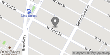 Map of 133 W 72nd Street in New York