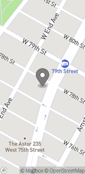 Map of 2195 Broadway in New York