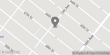 Map of 4609 13th Avenue in Brooklyn