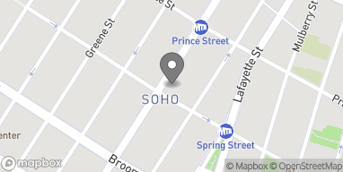 Map of 532 B Broadway in New York