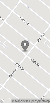 Map of 5424 8th Avenue in Brooklyn