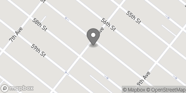 Map of 5703 8th Ave in Brooklyn