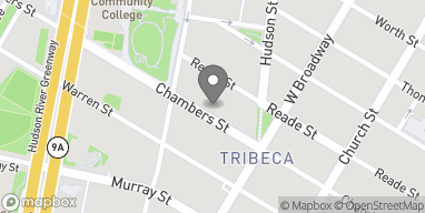 Map of 157 Chambers St in New York