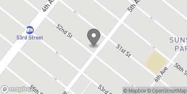 Map of 5120 5th Avenue in Brooklyn