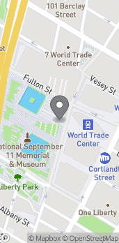 Map of 185 Greenwich St, Ll5100 in New York