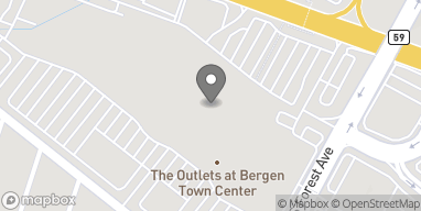Map of 1 Bergen Mall Drive in Paramus