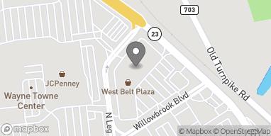 Mapa de 57 Route 23 en Wayne