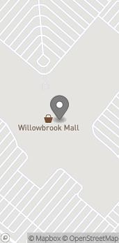 Mapa de 1400 Willowbrook Mall en Wayne