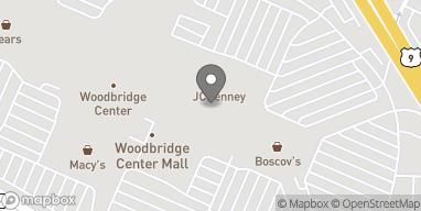 Map of 326 Woodbridge Center Drive in Woodbridge