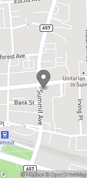 Map of 342 Springfield Avenue in Summit