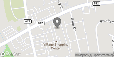 Map of 1260 Springfield Ave in New Providence