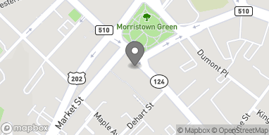 Map of 40 W Park Pl in Morristown
