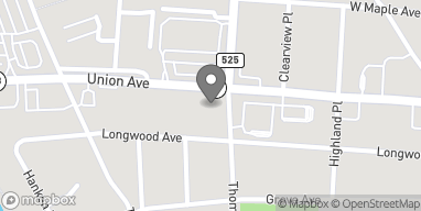 Map of 500 W Union Ave in Bound Brook