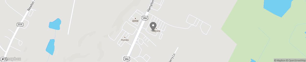 Map of 66 Hampton House Rd in Newton
