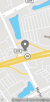 Map of 3531 Route 38 in Mount Laurel