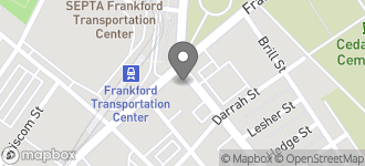 Map of 5251 Frankford Ave. in Philadelphia
