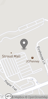 Map of 454 Stroud Mall in Stroudsburg