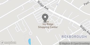 Map of 7134 Ridge Ave in Philadelphia