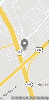 Map of 931 Bethlehem Pike in Montgomeryville
