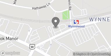 Map of 31 E Wynnewood Road in Wynnewood