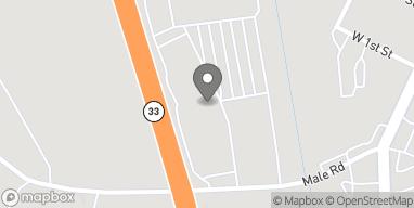 Map of 825 Male Road in Wind Gap
