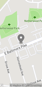 Map of 148 Baltimore Pike in Springfield