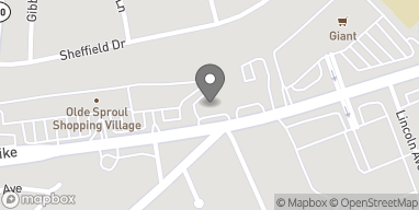 Map of 1100 Baltimore Pike in Springfield