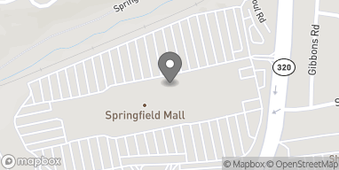 Map of 1250 Baltimore Pike in Springfield