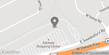 Map of 259 East Swedesford Road in Wayne