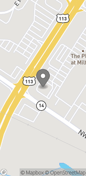 Map of 614 N Dupont Blvd in Milford