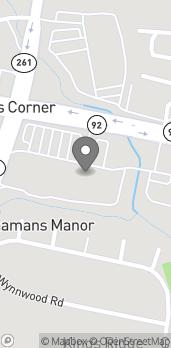 Mapa de 2090 Naamans Rd en Wilmington