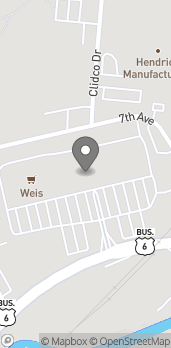 Map of 91 Brooklyn Street in Carbondale