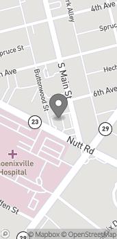 Map of 123 Nutt Road in Phoenixville