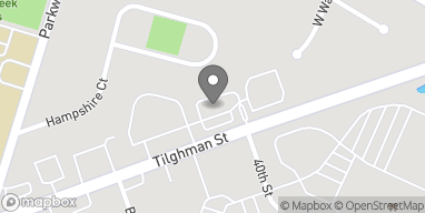 Map of 4025 W Tilghman St in Allentown