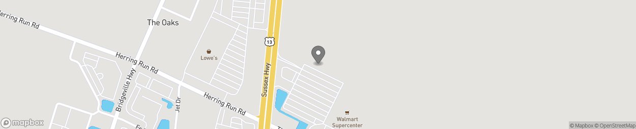 Map of 22877 Sussex Hwy in Seaford