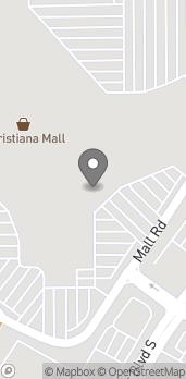 Map of 735 Christiana Mall in Newark