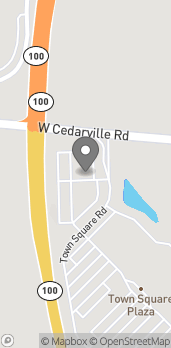 Map of 1108 Town Square Rd in Pottstown